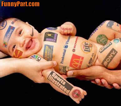 Nascar Baby Funny Picture