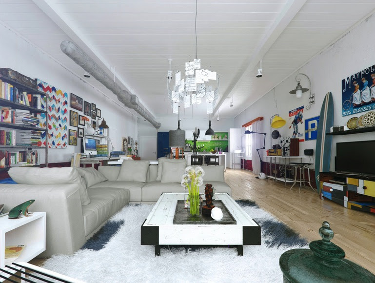 Colorful and Funky Interiors [