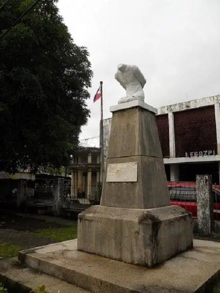 The Headless Monument in Legazpi City
