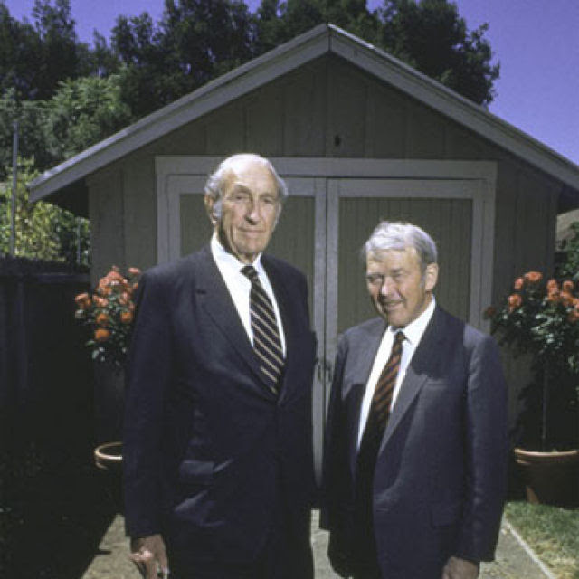William Reddington Hewlett e David Packard