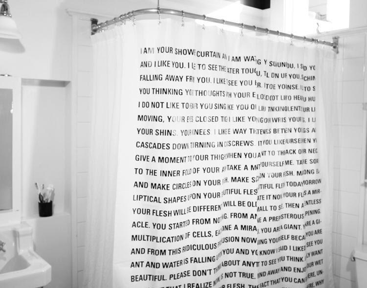 Showering Letters » Design You Trust