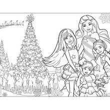 buying new innovative design undefeated x Dessin A Imprimer Barbie Noel - vedkokeven.blogspot.com