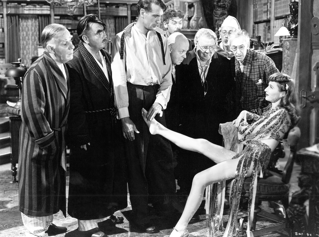 BALL OF FIRE ('41): A Barrel of Fun by Susan Doll According to film historians Gerald Mast and Wes Gehring, Howard Hawks is the quintessential director of screwball comedy. This opinion can be backed up with facts and films, but I am always caught...