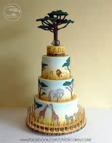 25  best ideas about Safari Cakes on Pinterest   Jungle