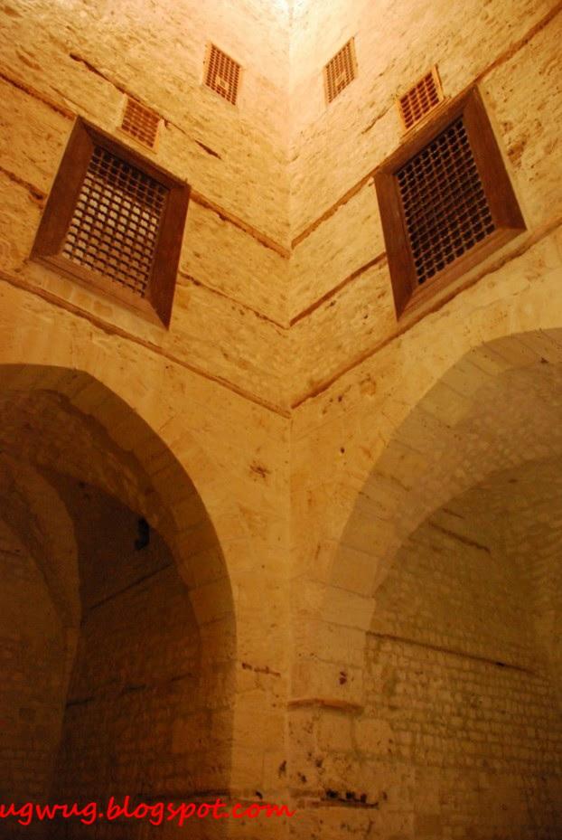 Inside Citadel of Qaitbay