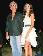 Flavio Briatore e la moglie