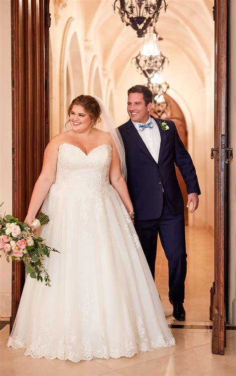Affordable Classic Plus Size Wedding Dress   Stella York