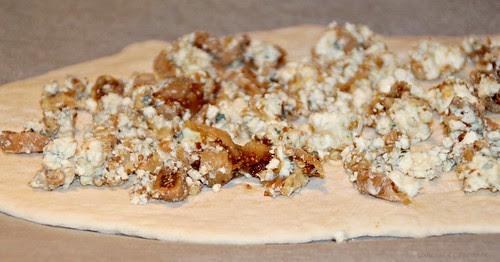 Blue Cheese, Fig & Walnut Flatbread 6A