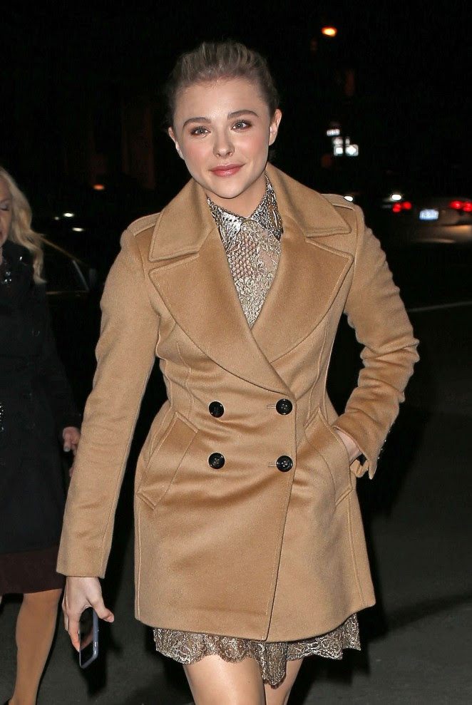 Chloe Moretz: Museum of The Moving Image honors Julianne Moore -05
