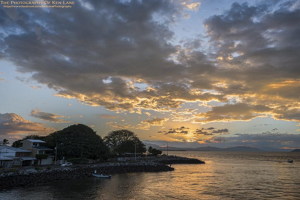 Sunset at Puntarenas Ferry Landing, Costa Rica