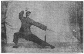《昆吾劍譜》 李凌霄 (1935) - posture 69