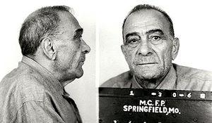 Vito Genovese in a police photo