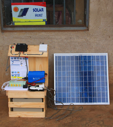 Solar 'power station' at retailers in Tororo