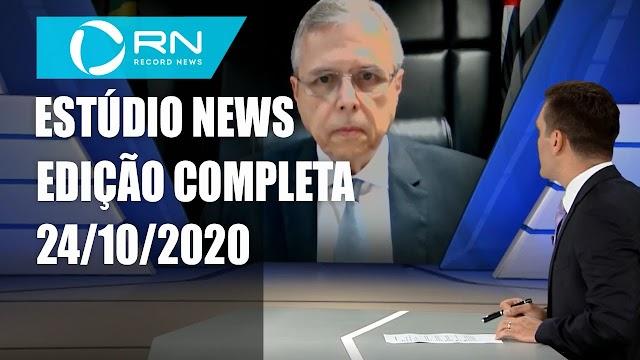 Estúdio News - 24/10/2020 - Completo