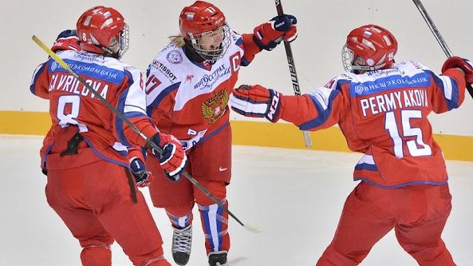 Хоккей. Женская сборная России по хоккею проиграла с крупным счётом США на чемпионате мира