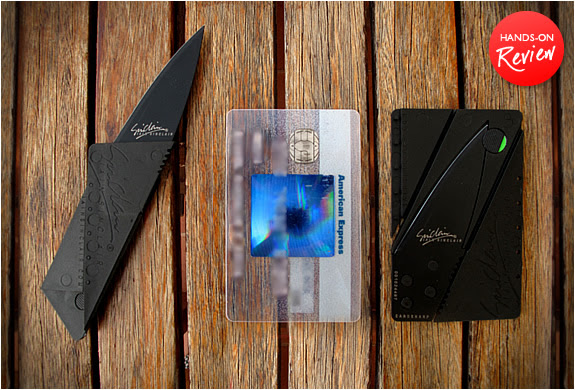 CARDSHARP 2 | CREDIT CARD FOLDING KNIFE | Image
