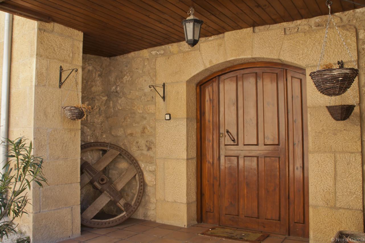 Una puerta de una casa que me encantó