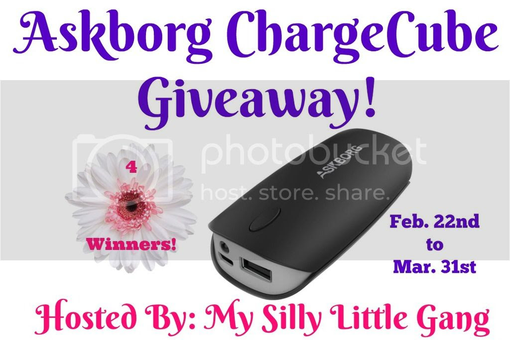 Enter the Askborg ChargeCube Giveaway. Ends 3/31