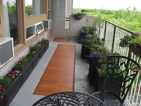 create Apartment Balcony Garden