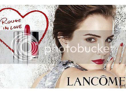 Emma Watson's Latest Lancôme Ad: Rouge in Love