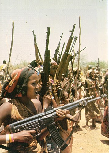 Somali women fighters from the Ogaden region of Ethiopia. by Pan-African News Wire File Photos