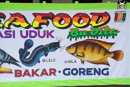20+ New For Contoh Gambar Spanduk Seafood