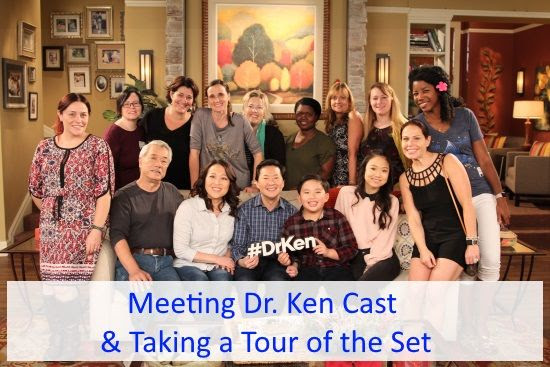 Meeting Dr. Ken cast and touring the set
