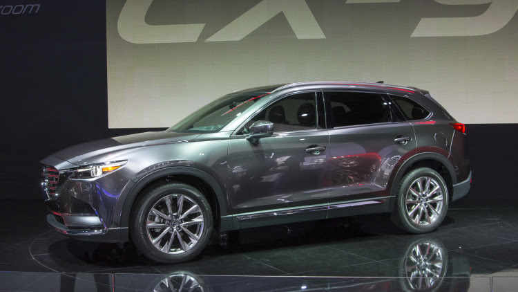 2017 Mazda CX-9 offers three rows of turbocharged style in LA