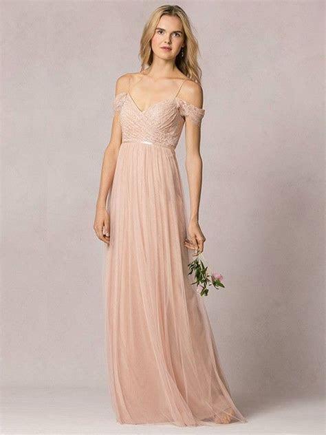 A Line/Princess Off the Shoulder Lace Floor length
