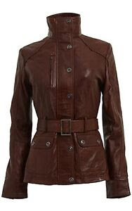 Vintage jackets for brown pictures leather women