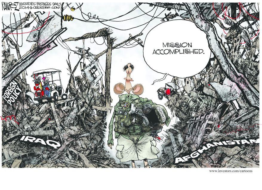 Image result for obama's presidency cartoons