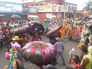 Bumba meu boi se apresenta no Festejo de São Marçal (Foto: João Ricardo/G1 Maranhão)