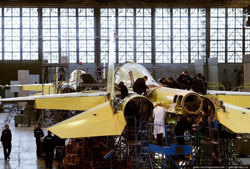 chkalovsu001 27 sản xuất của Su 34 Trong Novosibirsk