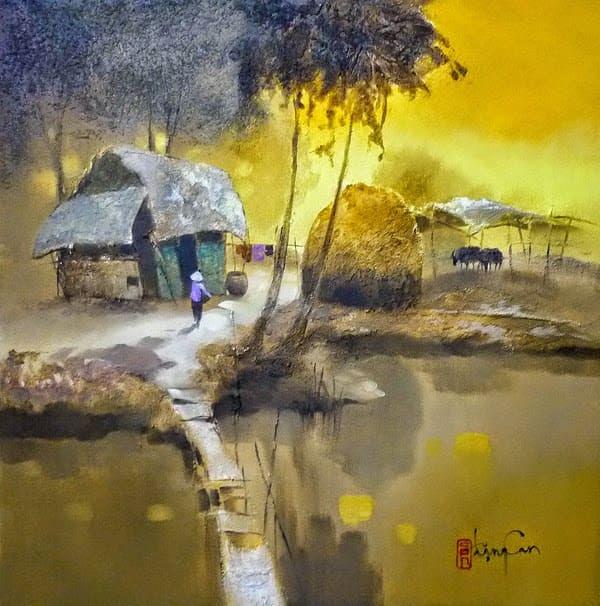 художник Dang Van Can картины – 08