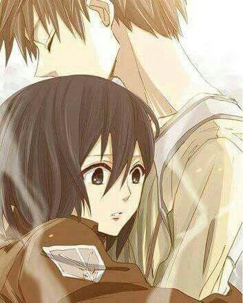 Wallpaper Eren E Mikasa Otanix Amino