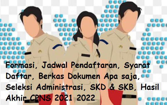 Pendaftaran CPNS 2021 Lulusan SMA SMK | No 1 Formasi TER ...