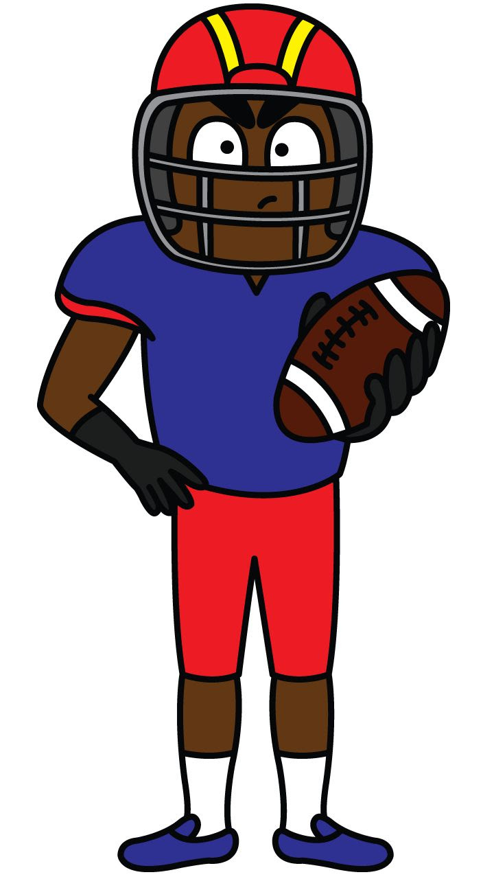 Nfl Football Players Drawing at GetDrawings | Free download