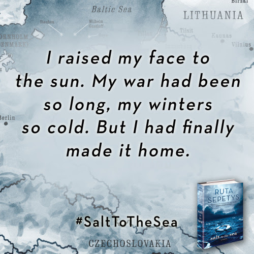 –SALT TO THE SEA by Ruta Sepetys