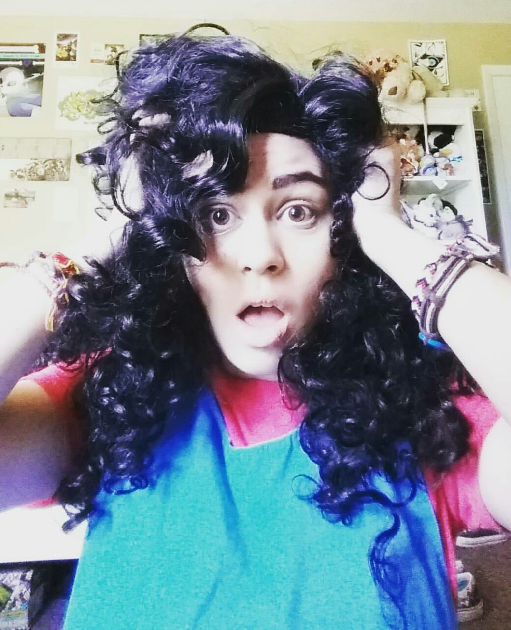 I think I am my happiest when I'm in Stevonnie cosplay.
