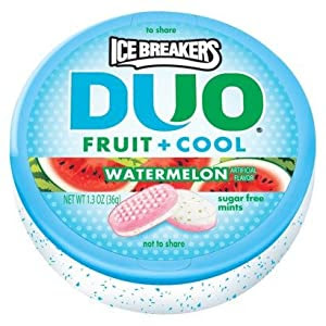 Amazon.com : Ice Breakers Duo Fruit + Cool Watermelon ...