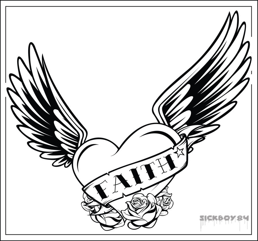Free Angel Wing Stencil Download Free Clip Art Free Clip Art On