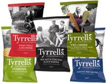 chips végétales Tyrrells