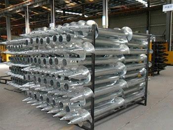 steel screw piles alberta