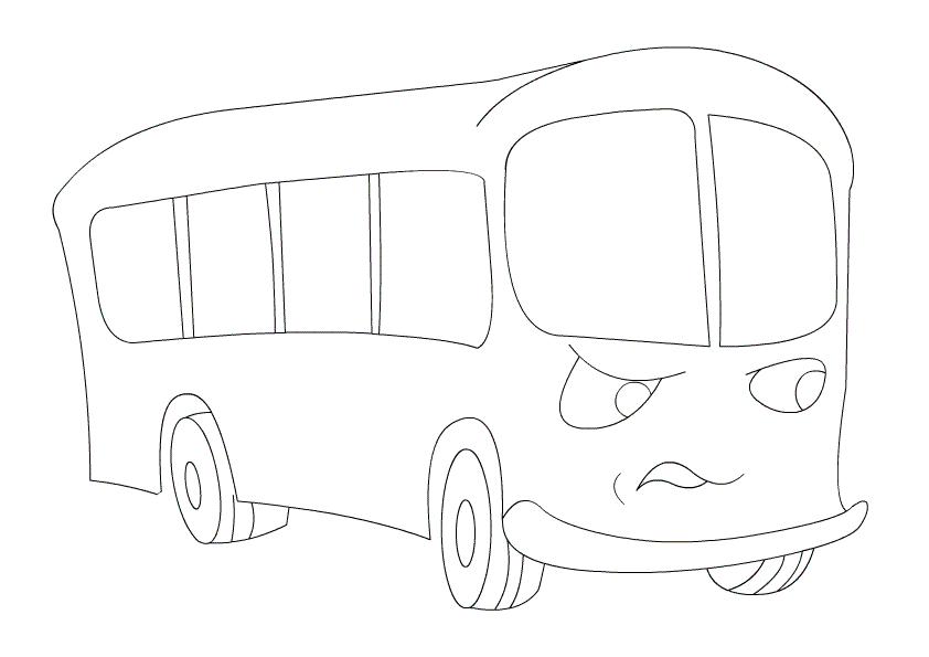 обсуждение автобус рисунки легко неисправности