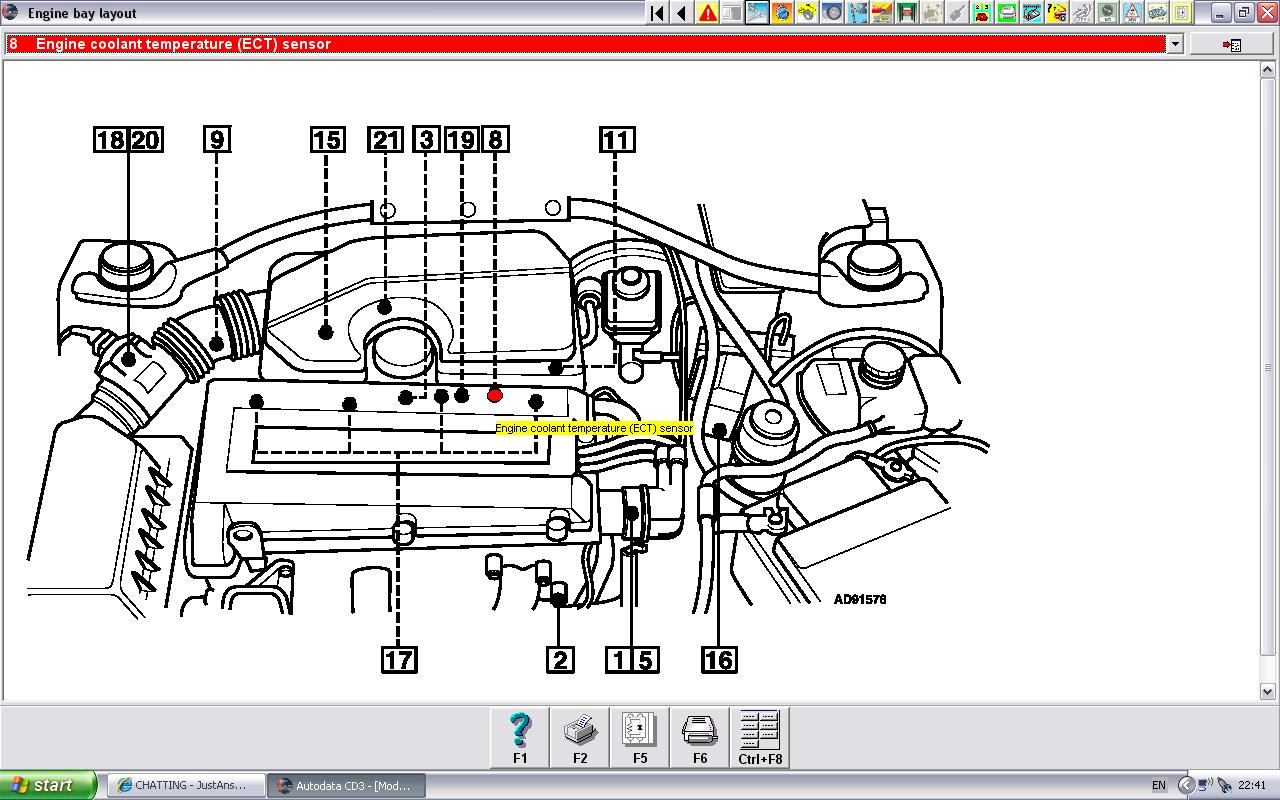 Wiring Diagram Database  2001 Vw Jetta Radiator Hose Diagram