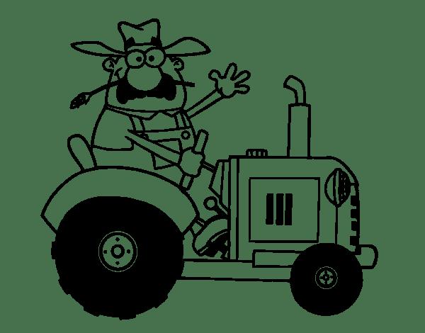 kleurplaat fendt tractor  kleurplaat tractor fendt 1050