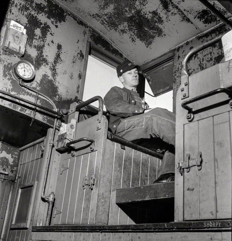 Rear Brakeman: 1943