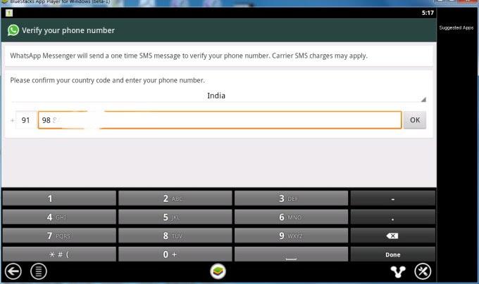 Configuring Whatsapp 2