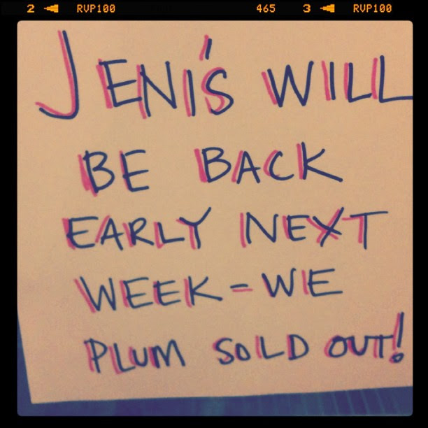 Market down the street sells Jeni's!!!