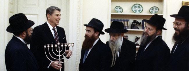 Resultado de imagem para Ronald Reagan and jews
